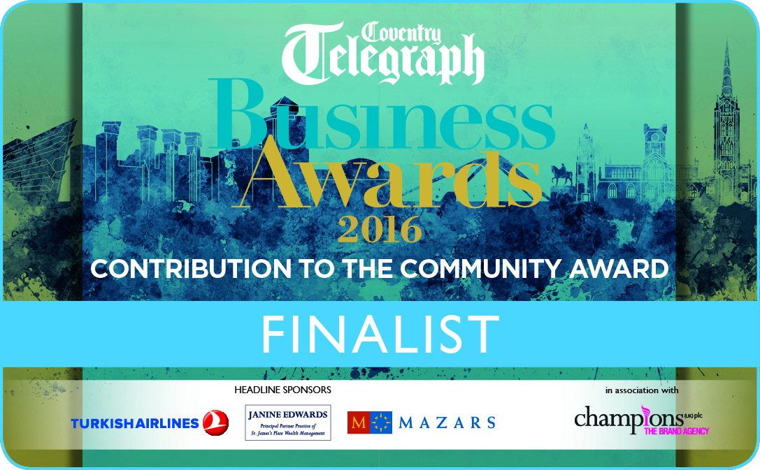 Coventry Telegraph Business Awards Finalist 2016